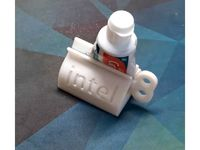 jntel Toothpaste Squeezer by Undefinedefity