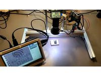 Motorized microscope with Raspberry Pi HQ camera and HTML interface by projetsdiy