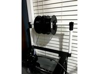 Spool holder for Creativity ELF printer by B-Cup