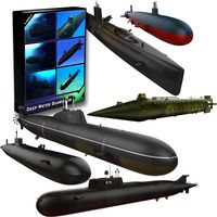 Deep Water Guardians - Submarine Collection3d model