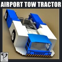 Airport Tow Tractor Golhofer AST-1