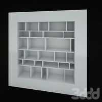 стеллаж Window-Bookcase-Or-TV