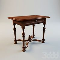 Figured Walnut Writing Desk