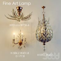 Fine Art Lamps CRYSTAL LAUREL