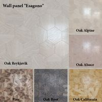 "Wall panel ""Esagono"" (6 colors)"
